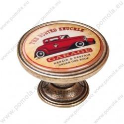 550BR14 ΠΟΜΟΛΑ Vintage Garage ΜΠΡΟΝΖΕ