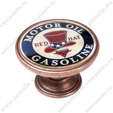 550CB15 ΠΟΜΟΛΑ Vintage Gasoline ΧΑΛΚΟΣ