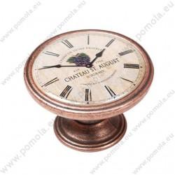 550CB20 ΠΟΜΟΛΑ Vintage Ρολόι ΧΑΛΚΟΣ