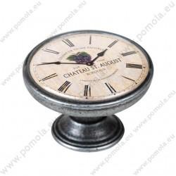 550PT20 ΠΟΜΟΛΑ Vintage Ρολόι ΑΣΗΜΙ ΑΝΤΙΚΕ
