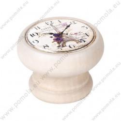 450DB21 ΠΟΜΟΛΑ Vintage Ρολόι ΛΕΥΚΟ ΝΤΕΚΑΠΕ
