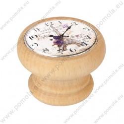 450HN21 ΠΟΜΟΛΑ Vintage Ρολόι ΟΞΙΑ ΦΥΣΙΚΗ