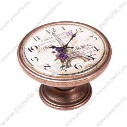 550CB21 ΠΟΜΟΛΑ Vintage Ρολόι ΧΑΛΚΟΣ