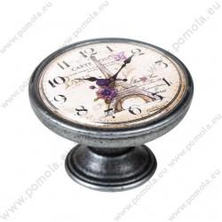 550PT21 ΠΟΜΟΛΑ Vintage Ρολόι ΑΣΗΜΙ ΑΝΤΙΚΕ