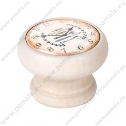 450DB22 ΠΟΜΟΛΑ ΒΙΝΤΑΖ Vintage Ρολόι ΛΕΥΚΟ ΝΤΕΚΑΠΕ