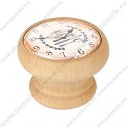 450HN22 ΠΟΜΟΛΑ ΒΙΝΤΑΖ Vintage Ρολόι ΟΞΙΑ ΦΥΣΙΚΗ