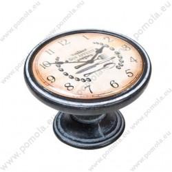 550NF22 ΠΟΜΟΛΑ ΒΙΝΤΑΖ Vintage Ρολόι ΠΑΤΙΝΑ ΣΚΟΥΡΙΑ