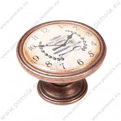 550CB22 ΠΟΜΟΛΑ ΒΙΝΤΑΖ Vintage Ρολόι ΧΑΛΚΟΣ