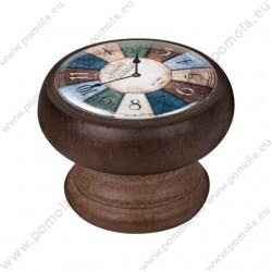 450NG23 ΠΟΜΟΛΑ ΒΙΝΤΑΖ Vintage Ρολόι ΚΑΡΥΔΙΑ
