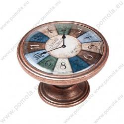 550CB23 ΠΟΜΟΛΑ ΒΙΝΤΑΖ Vintage Ρολόι ΧΑΛΚΟΣ
