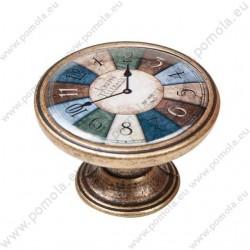 550BR23 ΠΟΜΟΛΑ ΒΙΝΤΑΖ Vintage Ρολόι ΜΠΡΟΝΖΕ