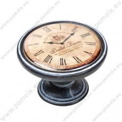 550NF24 ΠΟΜΟΛΑ ΒΙΝΤΑΖ Vintage Ρολόι ΠΑΤΙΝΑ ΣΚΟΥΡΙΑ