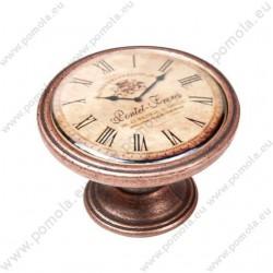 550CB24 ΠΟΜΟΛΑ ΒΙΝΤΑΖ Vintage Ρολόι ΧΑΛΚΟΣ