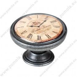 550PT24 ΠΟΜΟΛΑ ΒΙΝΤΑΖ Vintage Ρολόι ΑΣΗΜΙ ΑΝΤΙΚΕ