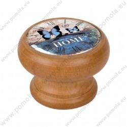 450HM25 ΠΟΜΟΛΑ ΒΙΝΤΑΖ Vintage Ρολόι ΜΕΛΙ