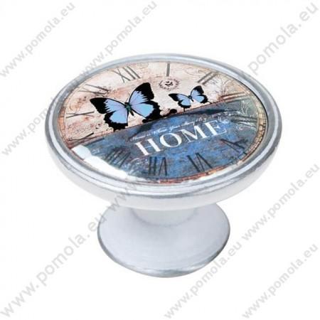 550PB25 ΠΟΜΟΛΑ ΒΙΝΤΑΖ Vintage Ρολόι ΠΑΤΙΝΑ ΑΣΗΜΙ