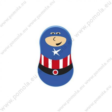 793CA ΠΟΜΟΛΟ ΠΑΙΔΙΚΟ ΧΡΩΜΑΤΙΣΤΟ ΚΑΠΤΕΝ ΑΜΕΡΙΚΑ (Captain America)