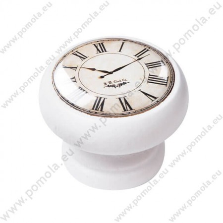 450BL02 ΠΟΜΟΛΑ Vintage Ρολόι ΛΕΥΚΗ ΛΑΚΑ
