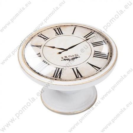 550BB02 ΠΟΜΟΛΑ Vintage Ρολόι ΠΑΤΙΝΑ ΜΠΡΟΝΖΕ