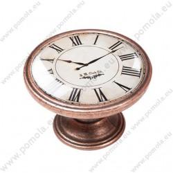 550CB02 ΠΟΜΟΛΑ Vintage Ρολόι ΧΑΛΚΟΣ