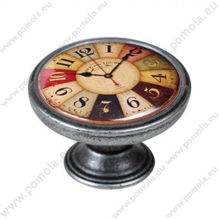 550PT03 ΠΟΜΟΛΑ Vintage Ρολόι ΑΣΗΜΙ ΑΝΤΙΚΕ