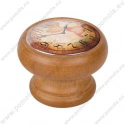 450HM04 ΠΟΜΟΛΑ Vintage Ρολόι ΜΕΛΙ