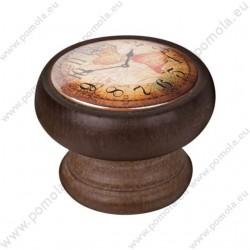 450NG04 ΠΟΜΟΛΑ Vintage Ρολόι ΚΑΡΥΔΙΑ
