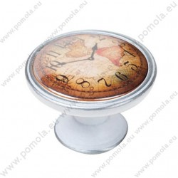 550PB04 ΠΟΜΟΛΑ Vintage Ρολόι ΠΑΤΙΝΑ ΑΣΗΜΙ