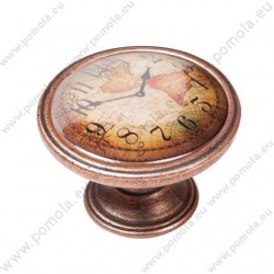 550CB04 ΠΟΜΟΛΑ Vintage Ρολόι ΧΑΛΚΟΣ