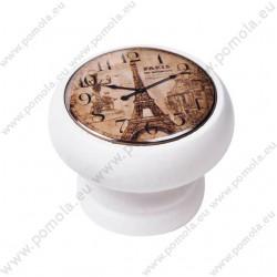 450BL05 ΠΟΜΟΛΑ Vintage Ρολόι ΛΕΥΚΗ ΛΑΚΑ