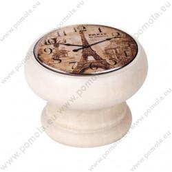 450DB05 ΠΟΜΟΛΑ Vintage Ρολόι ΛΕΥΚΟ ΝΤΕΚΑΠΕ