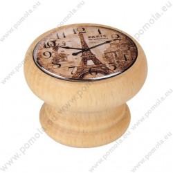 450HN05 ΠΟΜΟΛΑ Vintage Ρολόι ΟΞΙΑ ΦΥΣΙΚΗ