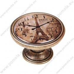 550BR05 ΠΟΜΟΛΑ Vintage Ρολόι ΜΠΡΟΝΖΕ