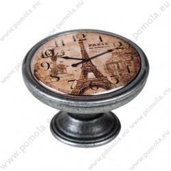 550PT05 ΠΟΜΟΛΑ Vintage Ρολόι ΑΣΗΜΙ ΑΝΤΙΚΕ