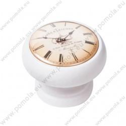 450BL06 ΠΟΜΟΛΑ Vintage Ρολόι ΛΕΥΚΗ ΛΑΚΑ