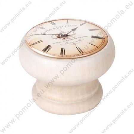 450DB06 ΠΟΜΟΛΑ Vintage Ρολόι ΛΕΥΚΟ ΝΤΕΚΑΠΕ