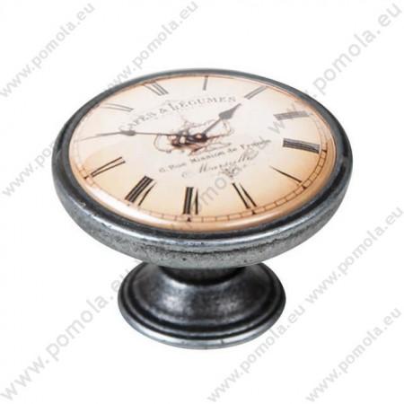 550PT06 ΠΟΜΟΛΑ Vintage Ρολόι ΑΣΗΜΙ ΑΝΤΙΚΕ