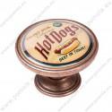 550CB10 ΠΟΜΟΛΑ Vintage Hot Dogs ΧΑΛΚΟΣ
